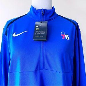 🆕 Nike Philadelphia 76ers Sixers Warmup Jacket